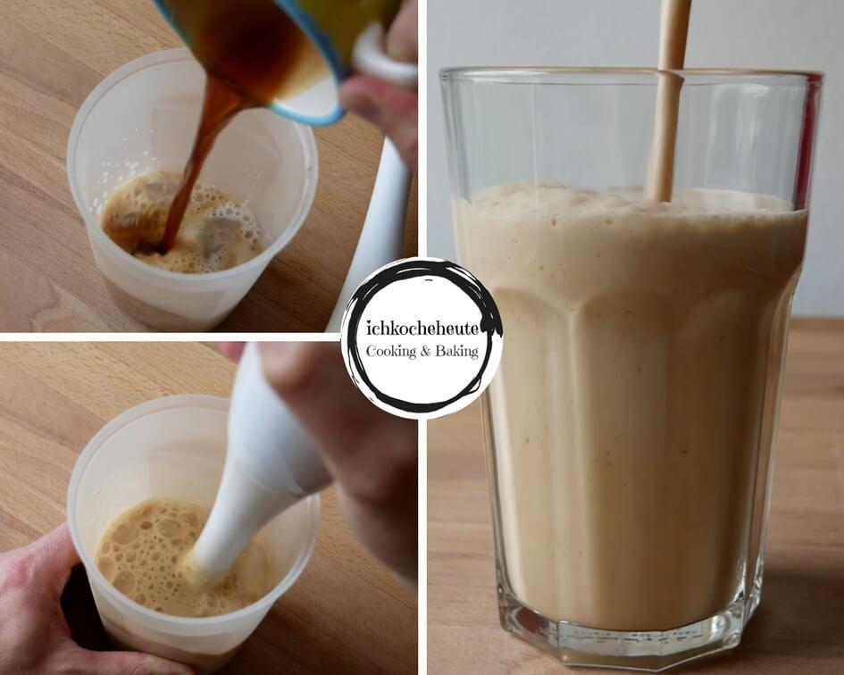 Caramel Frappuccino Zubereiten