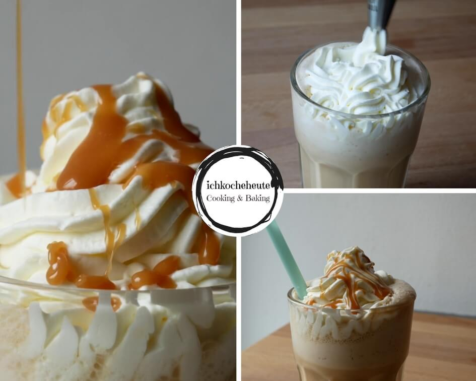 Caramel Frappuccino Garnieren