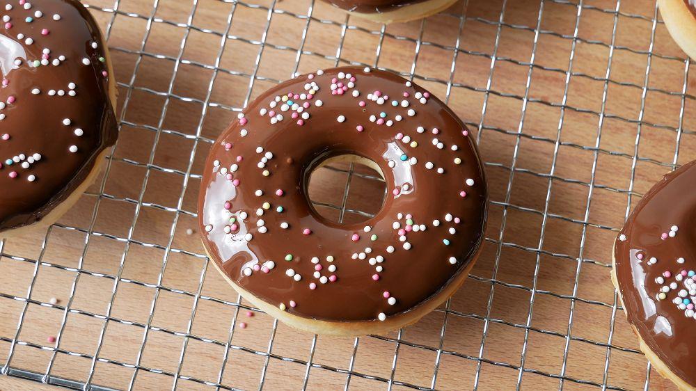 Donuts im Backofen Selber Machen