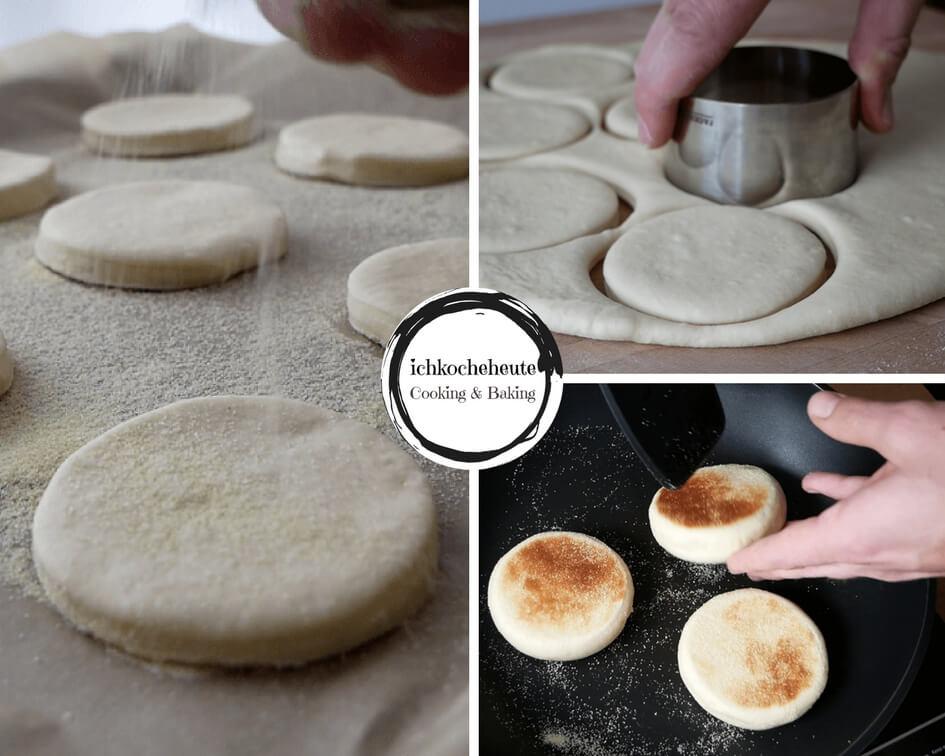 Muffins Ausstechen & Ausbacken