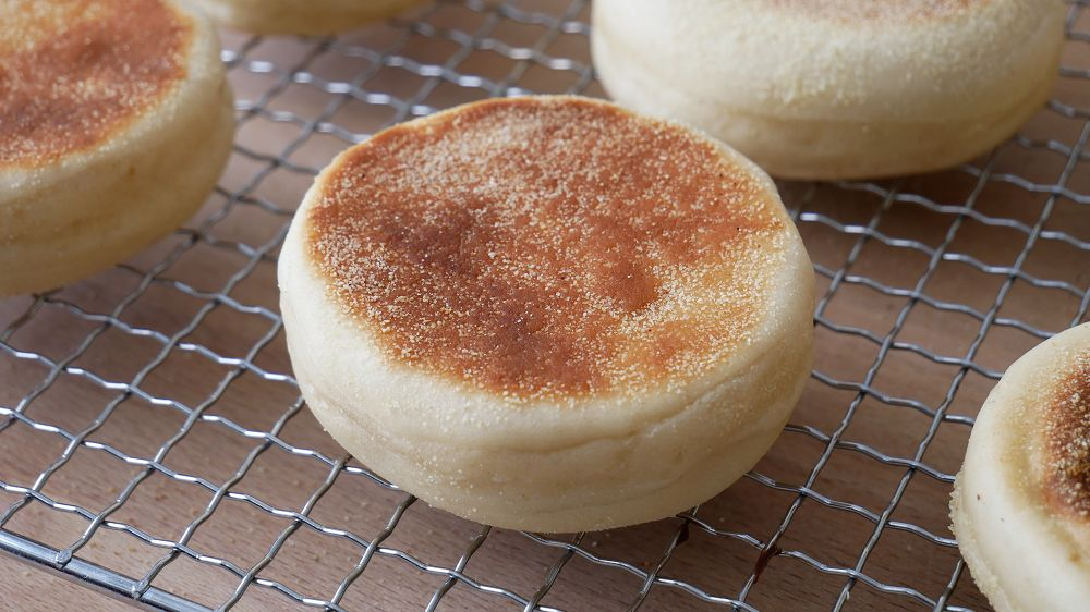 Englische Muffins Backen