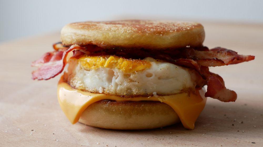 McMuffin Bacon & Egg Selber Machen