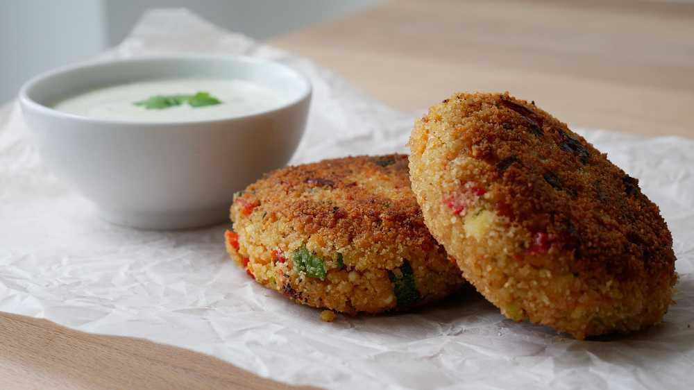 Vegetarische Couscous Bratlinge