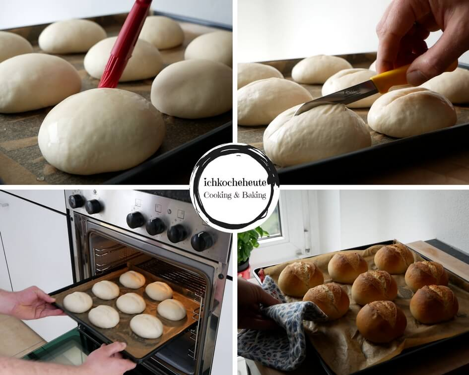 Baking Bread Rolls