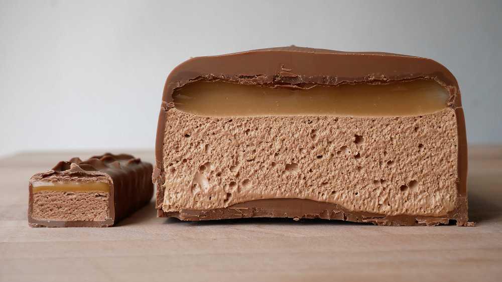 Homemade Giant Milky Way (Mars)