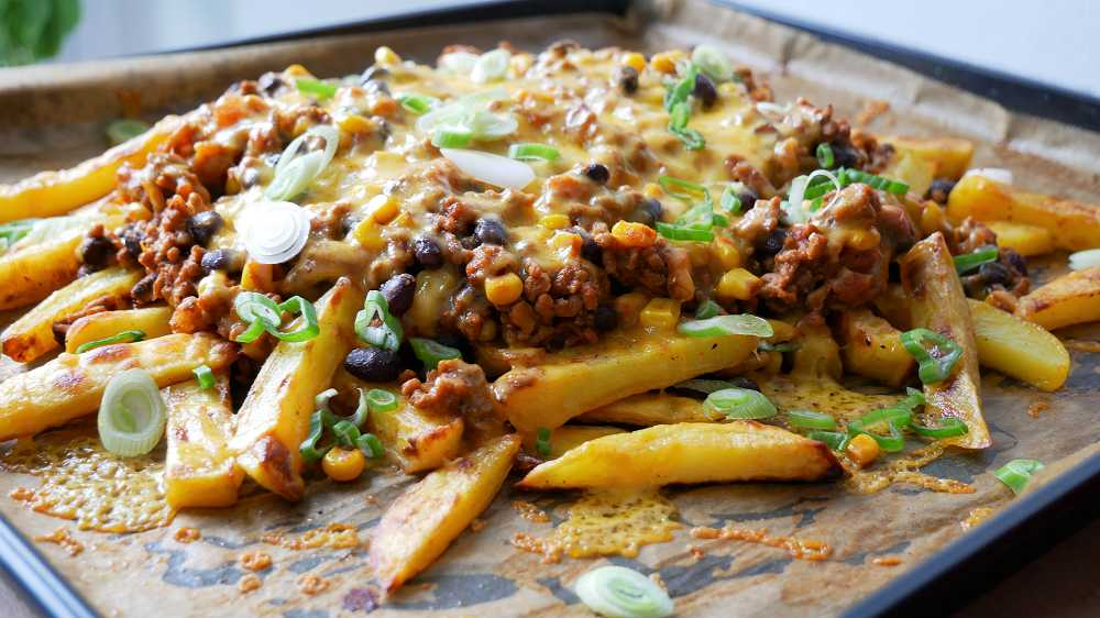Chili Cheese Fries Selber Machen