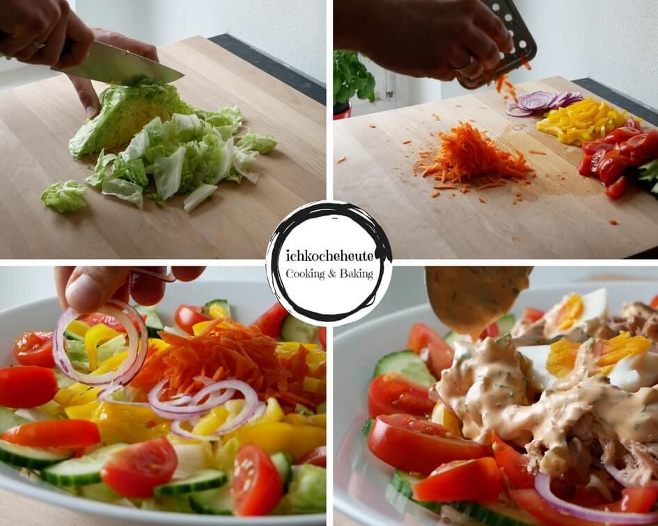 Preparing Tuna Salad
