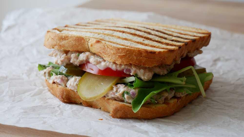 Schnelles Thunfisch Sandwich