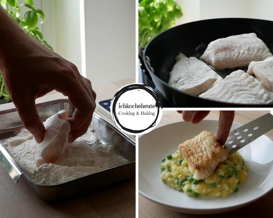 Frying Codfish