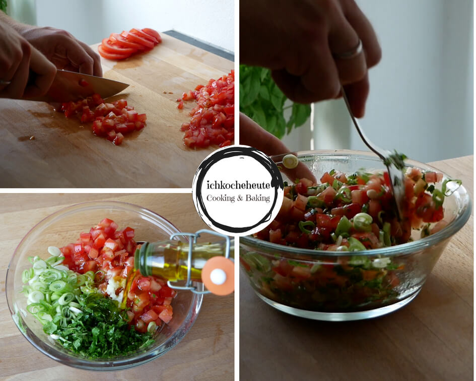 Tomatensalsa Zubereiten