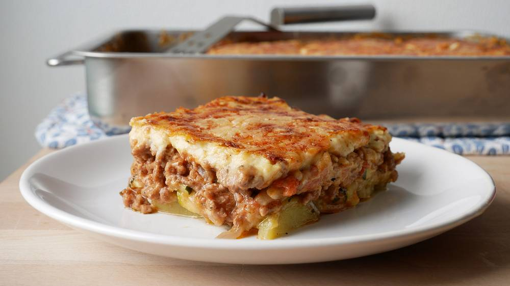 Zucchini Moussaka Kochen