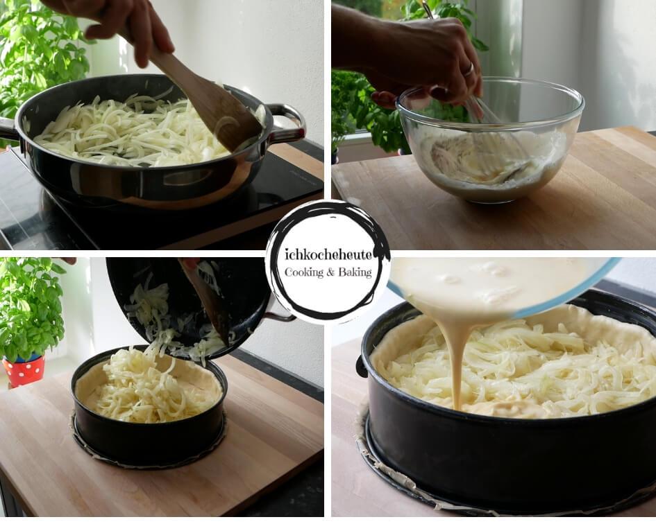 Zwiebelkuchen Zubereiten