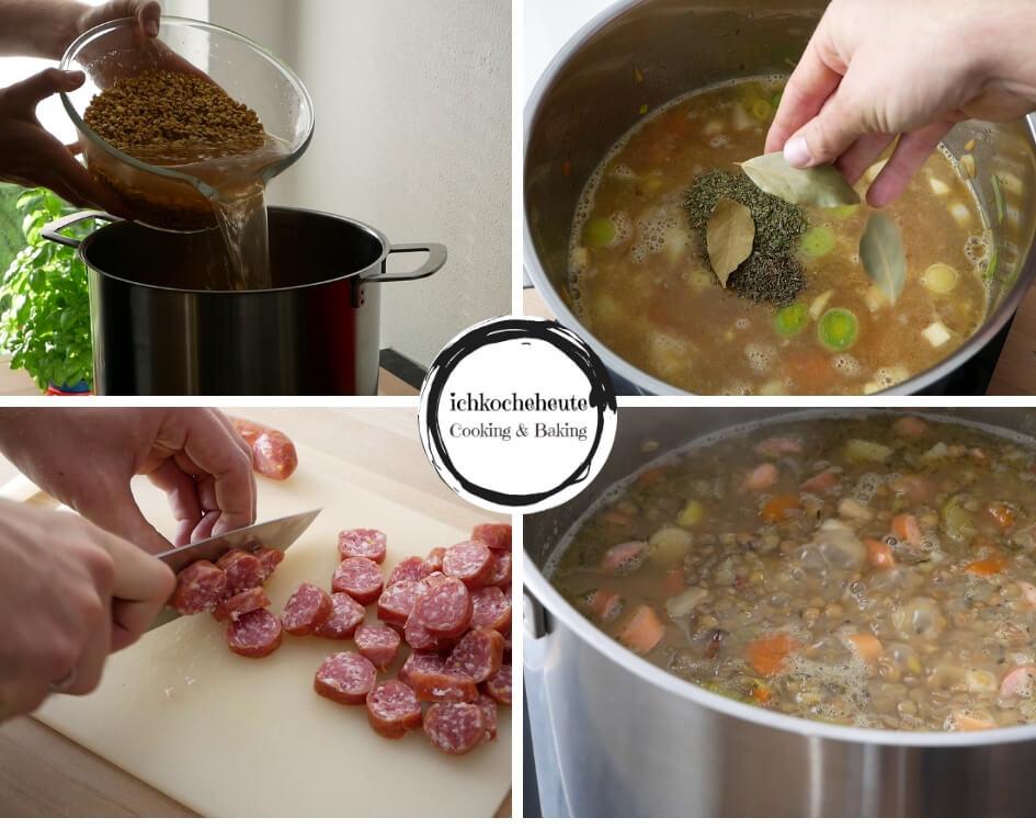 Cooking Lentil Soup