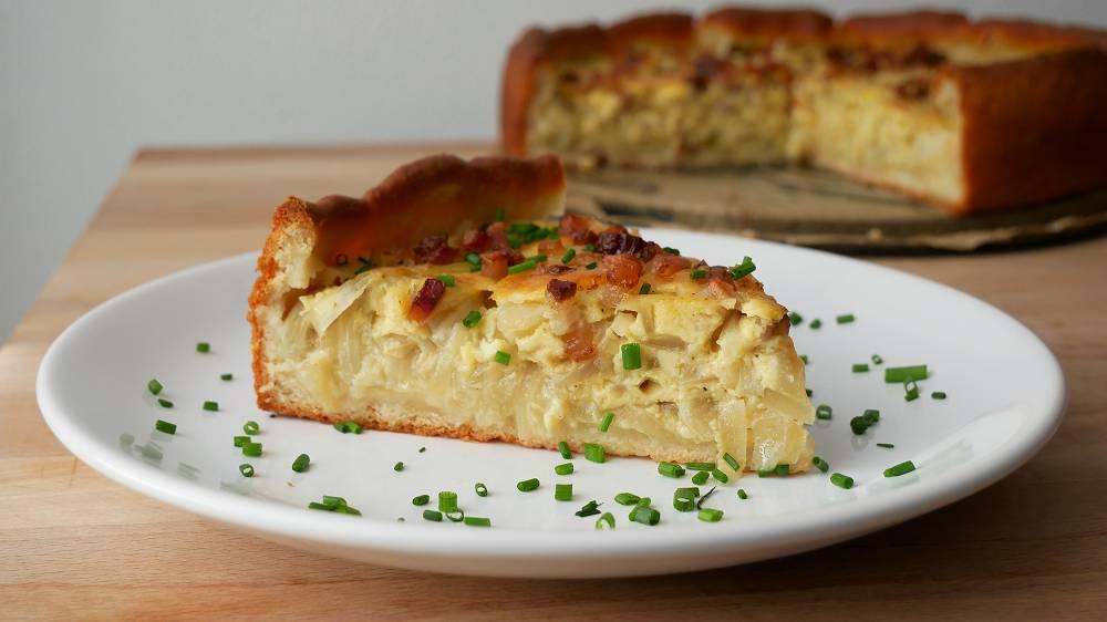 Baking Onion Cake