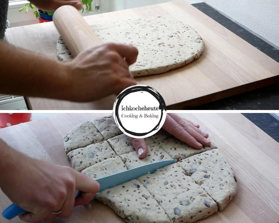 Rolling & Cutting Dough
