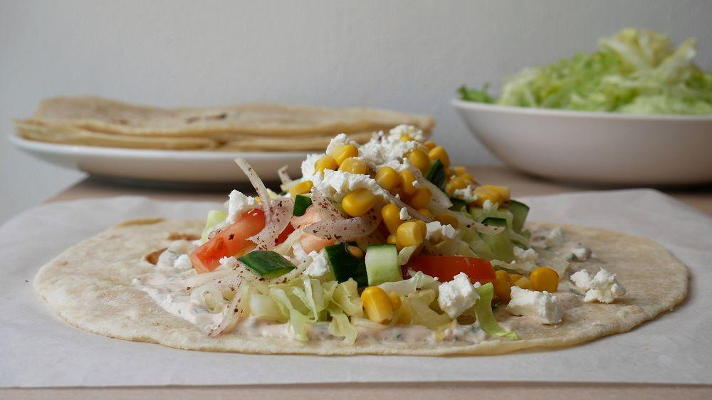 Salat Dürüm Selber Machen