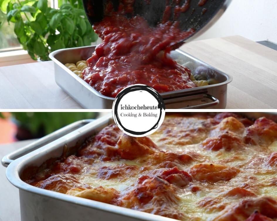 Gnocchi mit Tomatensauce Kochen