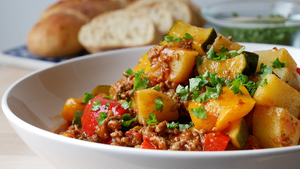 Farmer's Pot with Ground Meat