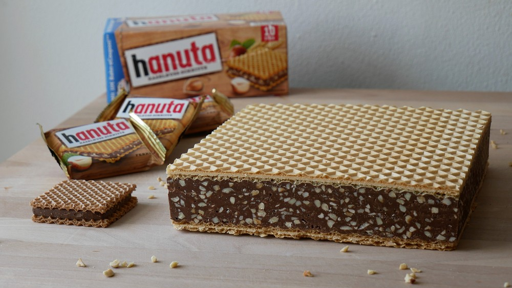 Homemade Giant Hanuta