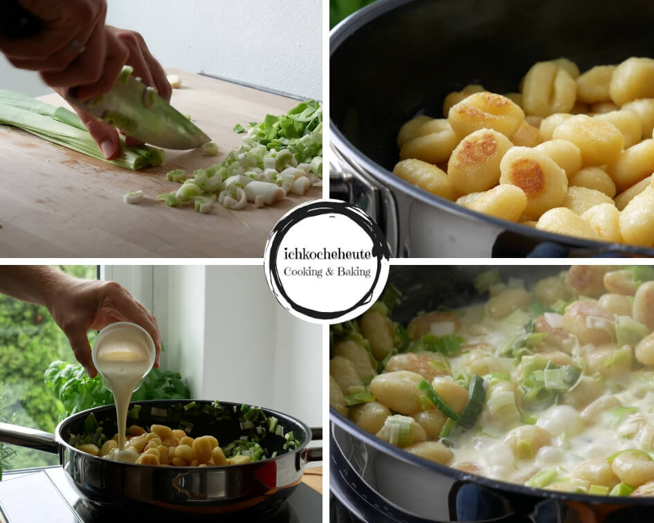 Pan-Fried Gnocchi with Leeks