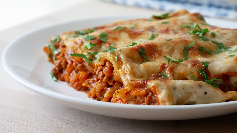 Italian Beef Cannelloni