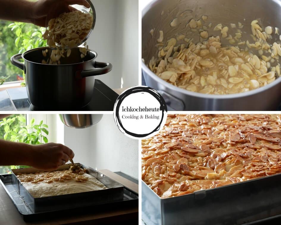 Preparing Almond Mixture