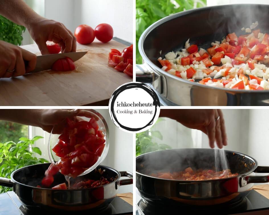 Preparation for Tomato Sauce