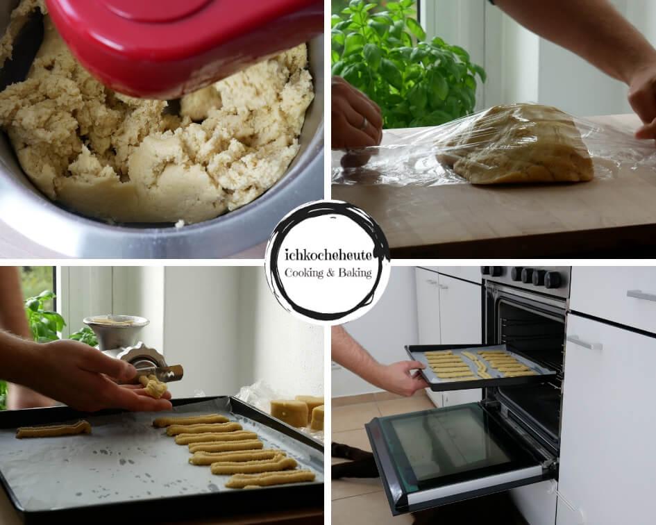 Baking Spritz Cookies