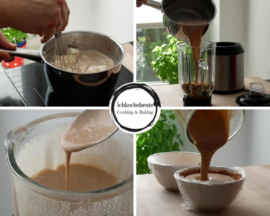 Preparing Hazelnut Cream