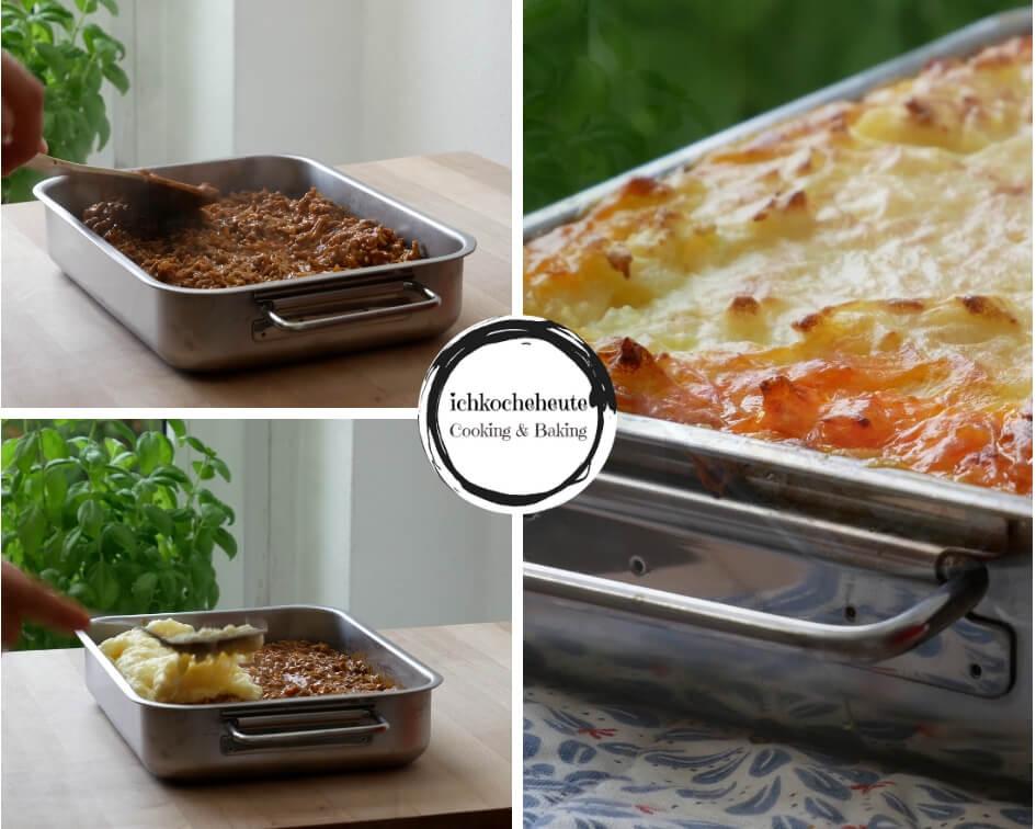 Shepherd's Pie Schichten