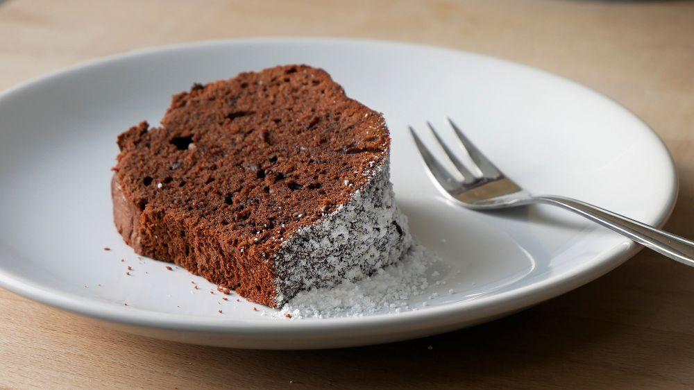 Mulled Wine & Chocolate Bundt Cake