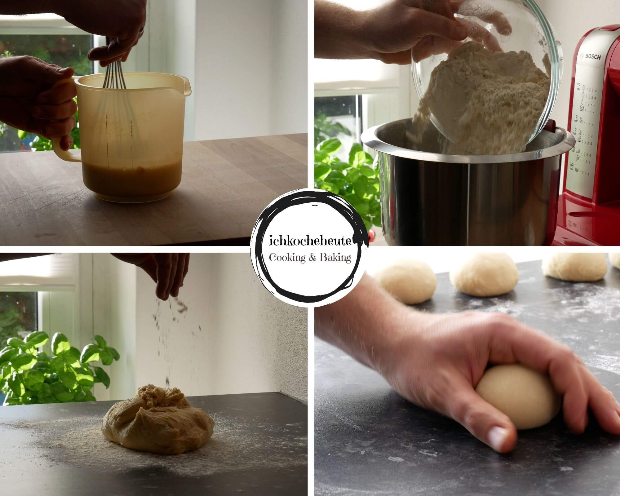 Kneading & Shaping Dough