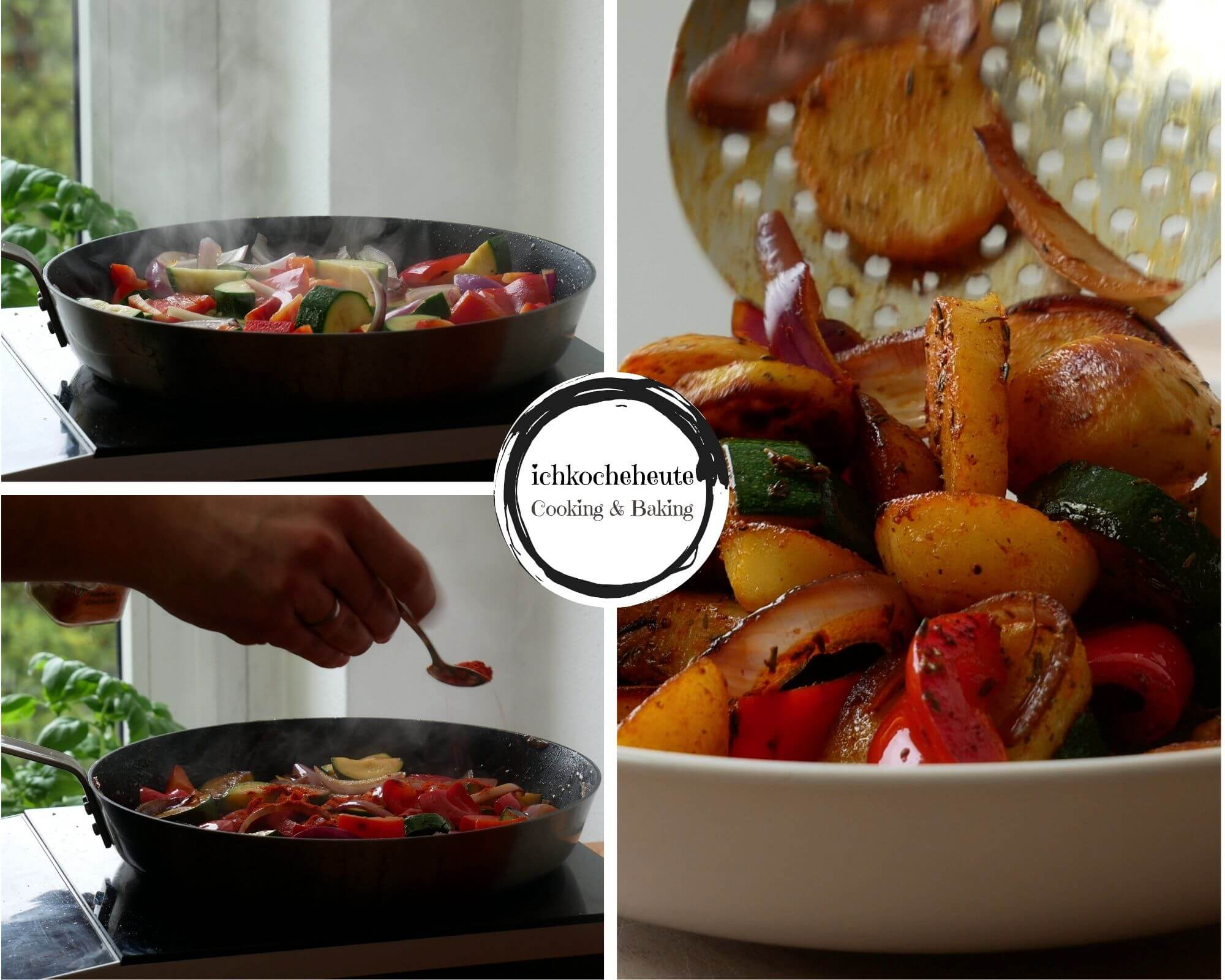 Bratkartoffelpfanne Zubereiten