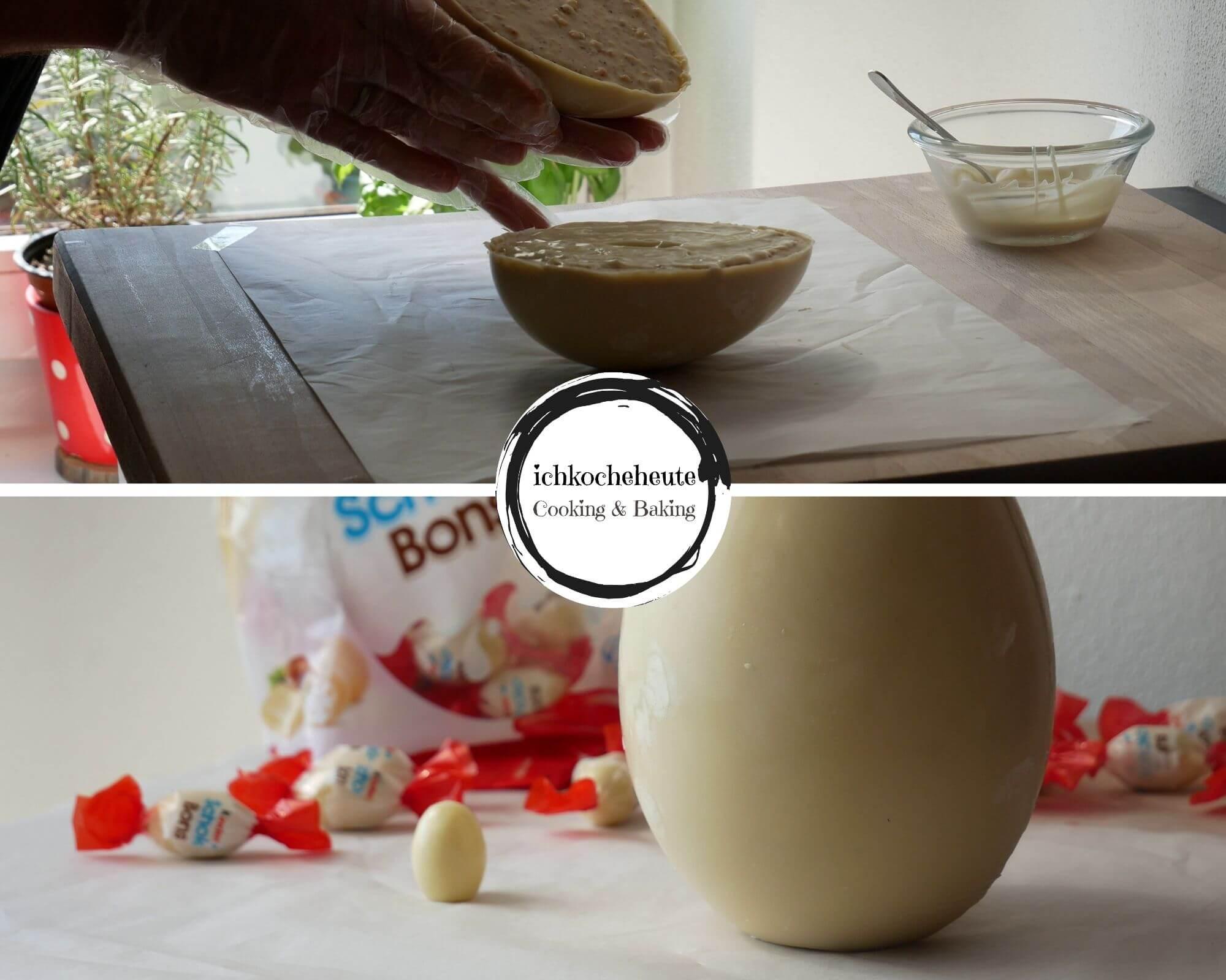 Baking Giant Chocolate Egg