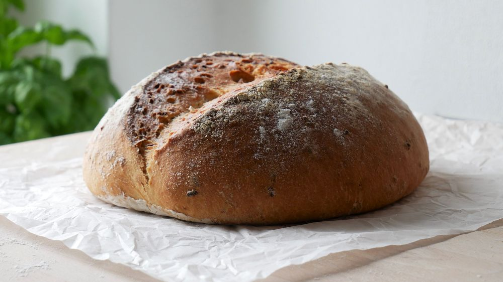 Baking Onion Bread