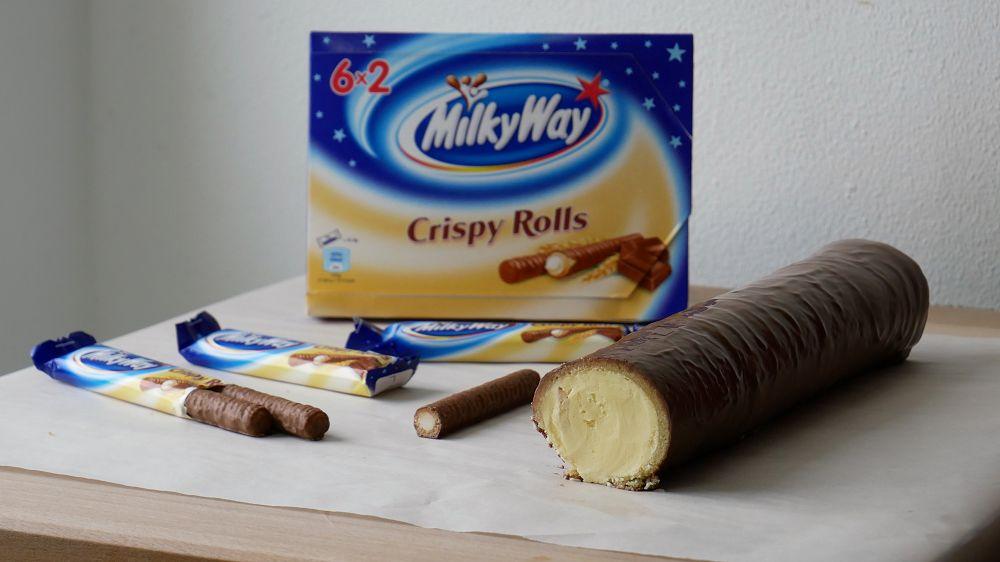 XXL Milky Way Crispy Rolls Selber Machen