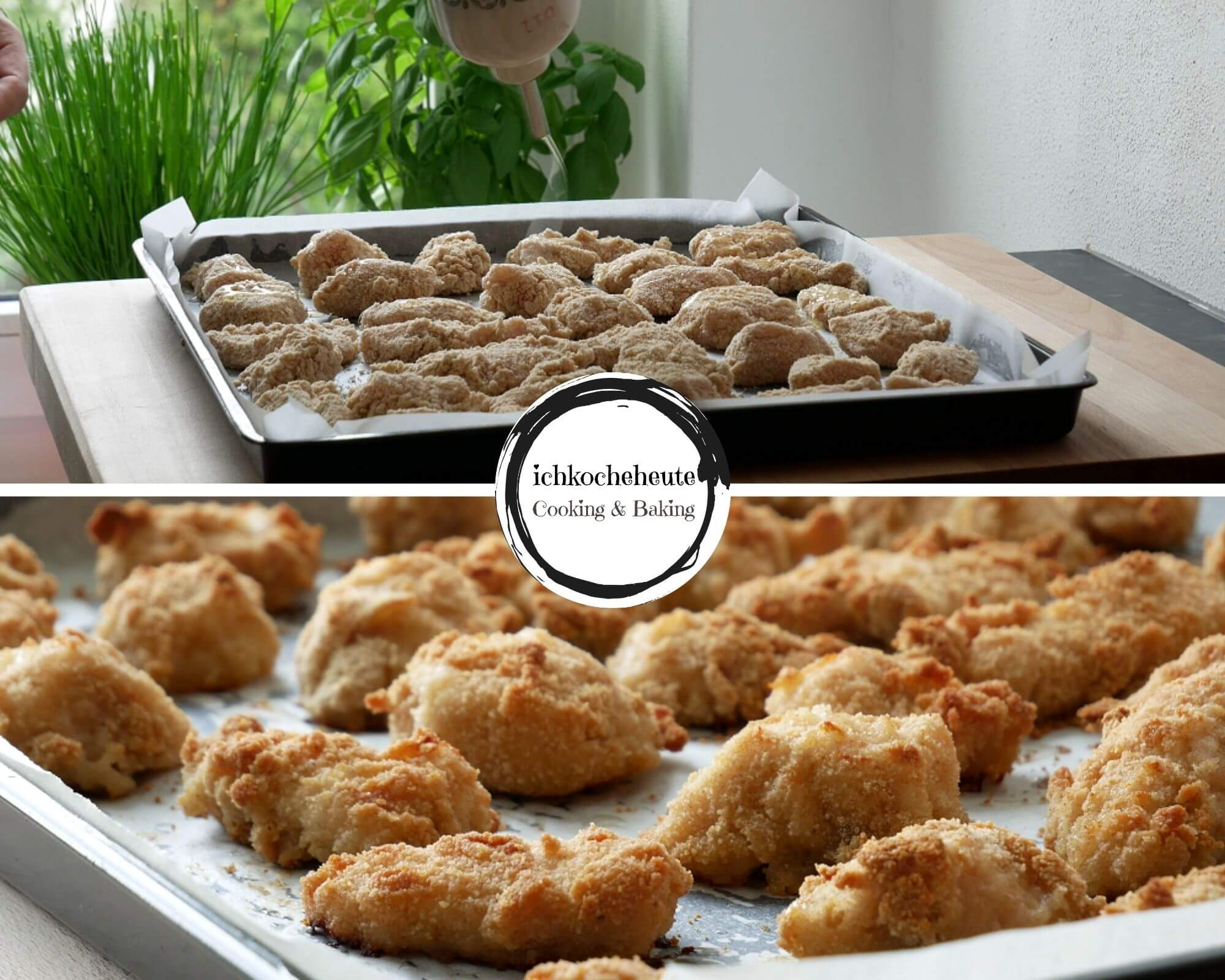 Chicken Nuggets Backen