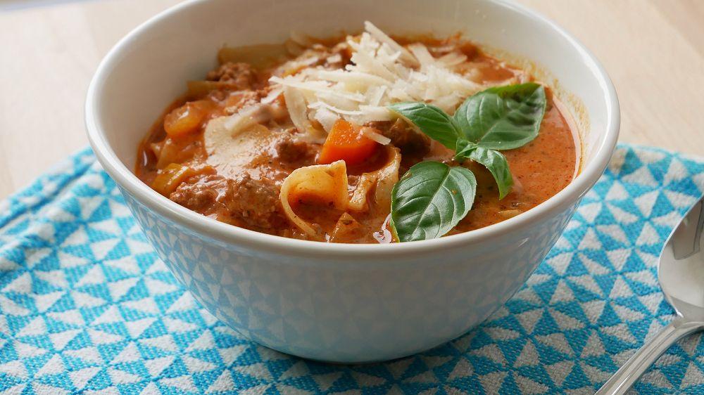 Einfache Lasagnesuppe Selber Machen