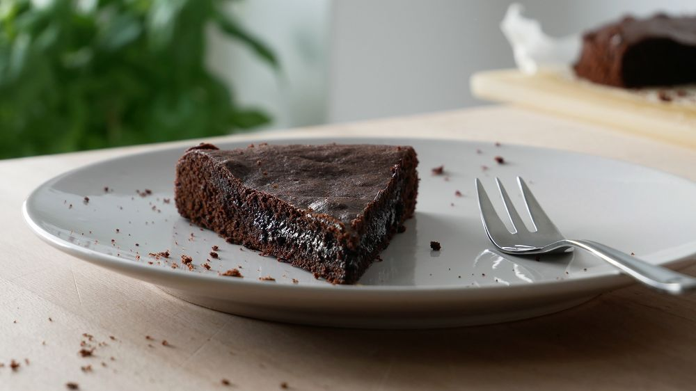 Swedish Chocolate Mud Cake